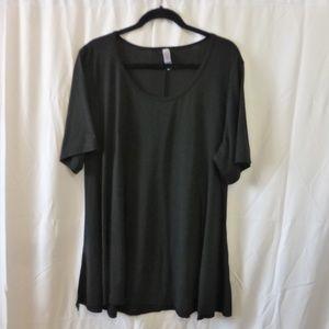 LuLaRoe Perfect T Basic Black Wardrobe Staple! 3X